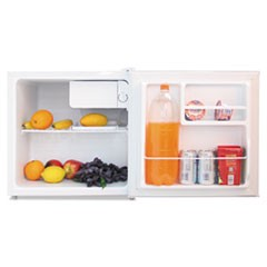 1.6 Cu. Ft. Refrigerator with Chiller Compartment, White