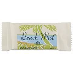 Face and Body Soap, Foil Wrapped, Beach Mist Fragrance, .75oz Bar, 1000/Carton