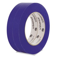 Universal Premium Blue Masking Tape With Uv Resistance, 3  Core, 18 Mm X 54.8 M, Blue, 2/Pack