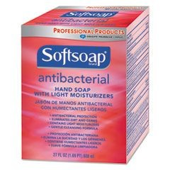 Antibacterial Moisturizing Hand Soap, Crisp Clean Scent, 800 mL Refill, 12/CT