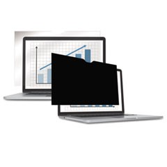 "PrivaScreen Blackout Privacy Filter, 14.1"" Widescreen LCD/Notebook, 16:10"