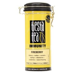 Loose Leaf Tea, Fireberry, 4 oz Tin