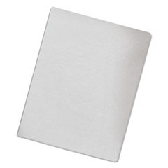 Classic Grain Texture Binding System Covers, 11-1/4 x 8-3/4, White, 200/Pack