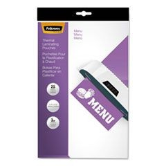 Laminating Pouches, 3mil, 12 x 18, 25/Pack