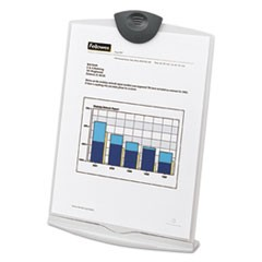 Copy Stand, Plastic, 75 Sheet Capacity, Platinum