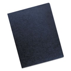 Linen Texture Binding System Covers, 11-1/4 x 8-3/4, Navy, 200/Pack