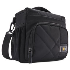 "DSLR Camera Shoulder Bag, 9"", 6 1/4"" x 8 7/8"" x 9 3/8"", Black"