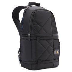 DSLR Camera and Tablet Backpack, 7/12 x 9 1/4 x 17 3/8, Black