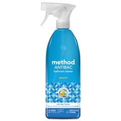 Antibacterial Spray, Bathroom, Spearmint, 28oz Bottle