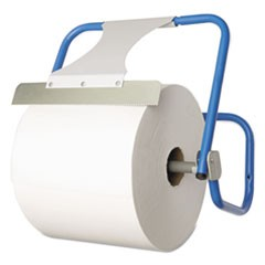 1Jumbo Roll Dispenser, Wall-Mount, Blue, 16 1/2 x 11 x 15, Steel