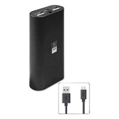 Power Bank, 4400 mAh, Black