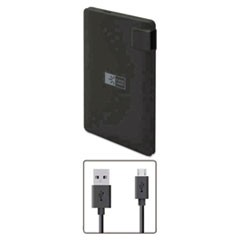 Power Bank, 2200 mAh, Black