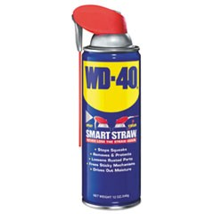 1Smart Straw Spray Lubricant, 12 oz Aerosol Can, 12/Carton