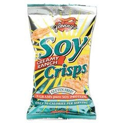 Soy Crisps, Ranch, 1.3oz Single-Serve Bag