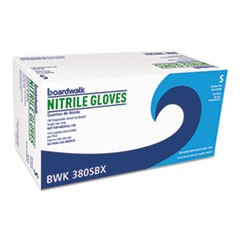 Disposable General-Purpose Nitrile Gloves, Small, Blue, 100/Box