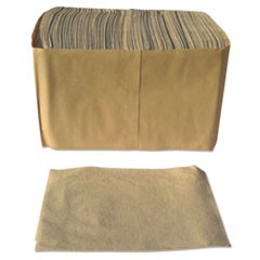 "Dispenser Napkins, Paper, 1-Ply, 13"" x 12"", Brown, 6000/Carton"