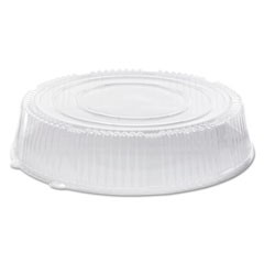 "Caterline Dome Lids, Plastic, 18"" Diameter x 3 5/8""High, Clear, 25/Carton"