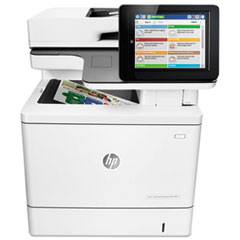 Color LaserJet Enterprise Flow MFP M577c, Copy/Fax/Print/Scan