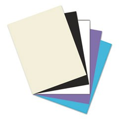 "Pacon Premium Tagboard, 5 Assorted Classic Colors, 8-1/2"" x 11"", 50 Sheets"
