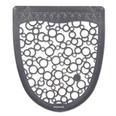 Urinal Mat 2.0, Rubber, 17 1/2 x 20, Gray/White, 6/Carton