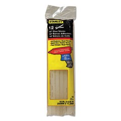 "Dual Temperature 10"" Glue Sticks, 0.45"" x 10"", Dries Clear, 12/Pack"
