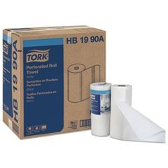 Universal Perforated Towel Roll, 2-Ply, White, 84 Sheets/Roll, 30 Rolls/Carton