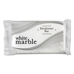 Individually Wrapped Deodorant Bar Soap, White, # 1 1/2 Bar, 500/Carton