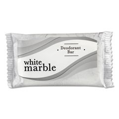 Individually Wrapped Deodorant Bar Soap, White, # 3/4 Bar, 1000/Carton