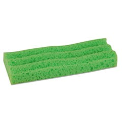 "Sponge Mop Head Refill, 9"", Green"
