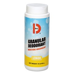 Granular Deodorant, Lemon, 16oz, Shaker Can, 12/Carton