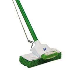 "Sponge Mop, 9"", 48"" Steel Handle"
