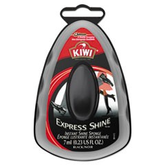Express Shine Sponge, Black, 7 mL, 12/Carton