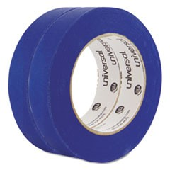 Universal Premium Blue Masking Tape With Uv Resistance, 3  Core, 24 Mm X 54.8 M, Blue, 2/Pack
