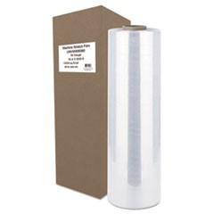 "Machine Stretch Film, 30"" x 5000 ft, 20.3mic, Clear"
