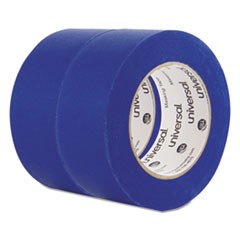 Universal Premium Blue Masking Tape With Uv Resistance, 3  Core, 48 Mm X 54.8 M, Blue, 2/Pack