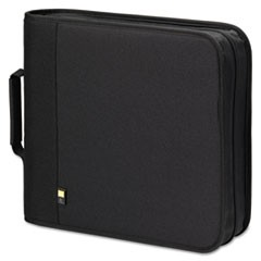 1CD/DVD Expandable Binder, Holds 208 Discs, Black
