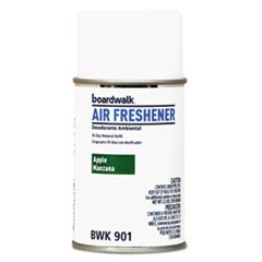 Metered Air Freshener Refill, Apple Harvest, 5.3 oz Aerosol, 12/Carton