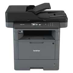 DCPL5650DN Business Laser Multifunction Printer with Duplex Print, Copy, Scan, and Networking
