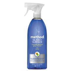 Glass and Surface Cleaner, Mint, 28 oz Bottle