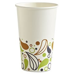 Deerfield Printed Paper Cold Cups, 16 oz, 20 Cups/Sleeve, 50 Sleeves/Carton