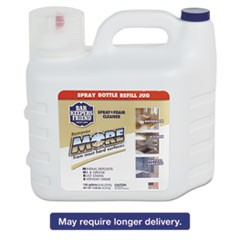 MORE Spray + Foam Cleaner, 1.66 gal Bottle, Citrus, 2/Carton