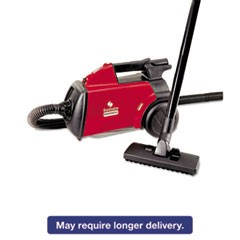 Commercial Compact Canister Vacuum, 10lb, Red