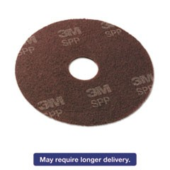 "Surface Preperation Pads, 13"", Brown, 10/Carton"