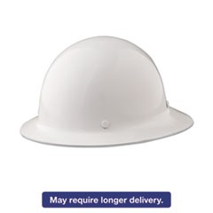Skullgard Protective Hard Hats, Ratchet Suspension, Size 6 1/2 - 8, White