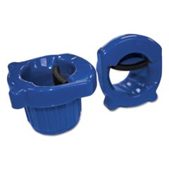 "Hand Core Dispenser for Stretch Film Rolls 12"" to 18"" Wide, Blue"