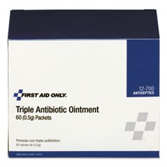 Triple Antibiotic Ointment, 0.5 g Packet, 60/Box