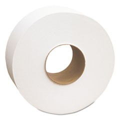 "Select Jumbo Bath Tissue, 1-Ply, White, 3 1/2"" x 2000 ft, 12 Rolls/Carton"