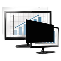 "PrivaScreen Blackout Privacy Filter for 19"" Widescreen LCD/Notebook, 16:10"