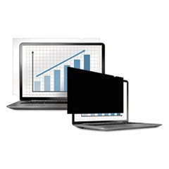 "PrivaScreen Blackout Privacy Filter for 15.4"" Widescreen LCD/Notebook, 16:10"