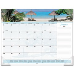 Images of the Sea Monthly Desk Pad Calendar, 22 x 17, 2017